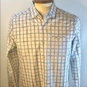 Tommy Bahama Dress Shirt Button Up Men's Medium